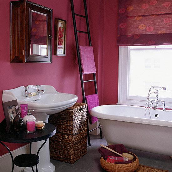 Escalera baño